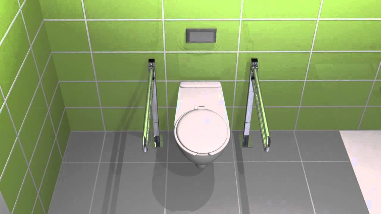Strefa Wc Ubikacja Dla Osób Niepełnosprawnych Youtube