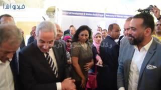 بالفيديو : وزيرالتجارة يفتتح المعرض الدولي للفرنشايز في نسخته الخامسة  عشر