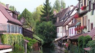 КОЛЬМАР (Colmar) - ГОРОД-СКАЗКА.  НЕВЕРОЯТНО красивый город во Франции ч.1