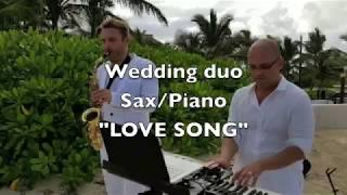 Wedding love song in Hard Rock Punta Cana