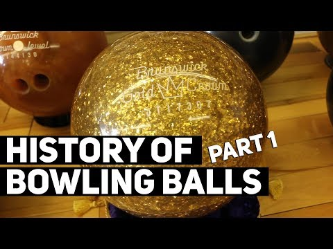 History Of Bowling Balls | Wood, Rubber, & Plastic
