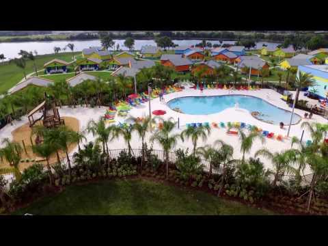 LEGOLAND Florida Beach Retreat Drone Flyovers