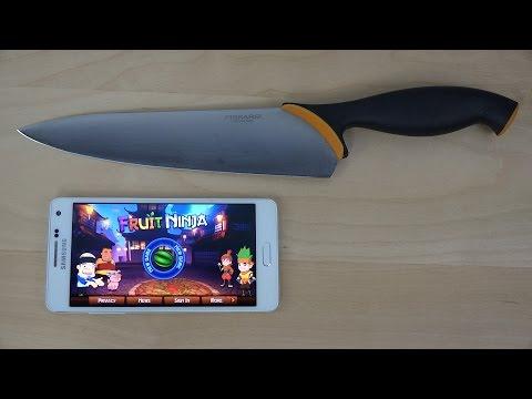 Samsung Galaxy A5 + Knife! (4K)