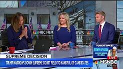 Jen Kerns Appears on MSNBC Live With Ayman Mohyeldin