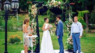 Свадьба Ильи и Ники. Живые цветы и оформление и декор от студии Клюква