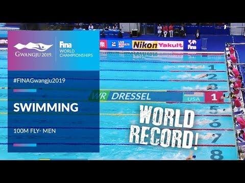 Swimming Men - 100m Butterfly   Top Moments   FINA World Championships 2019 - Gwangju