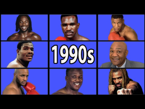 A brief chronology of the 1990s heavyweight division (Boxing Documentary)