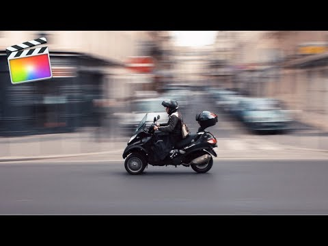 How To Create Speed Ramping Effect & Transition In Final Cut Pro 10.4