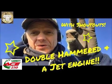 Double hammered and a jet engine (with shout outs) - Metal Detecting UK #69