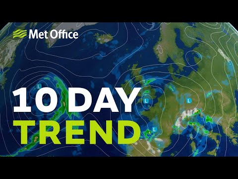 10 Day trend - More of the same as the cool and mixed weather continues