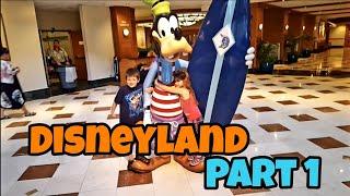 Kids First Trip To Disneyland Part 1 ( 2016 Unseen Video )