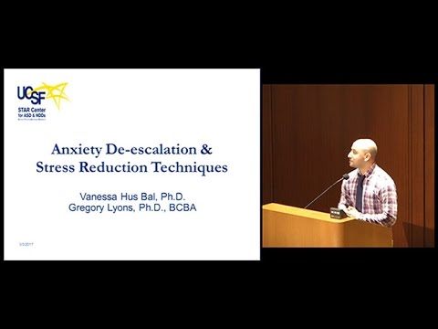 Anxiety De-escalation and Stress Reduction Techniques