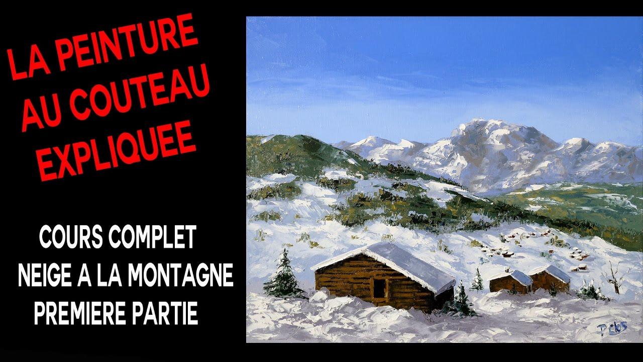 Neige a la montagne cours complet premi re partie for Chalet a la montagne avec piscine
