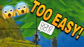 THAT PASSES WHEN I HAVE THE SNIPER #1 | Fortnite Battel Royal | CNX TV