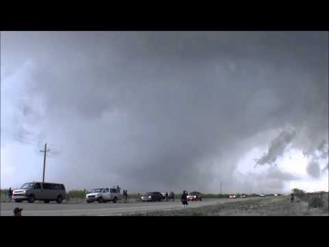 Stormchase 2014 - Cloud9tours - May 26: storm near San Angelo, TX