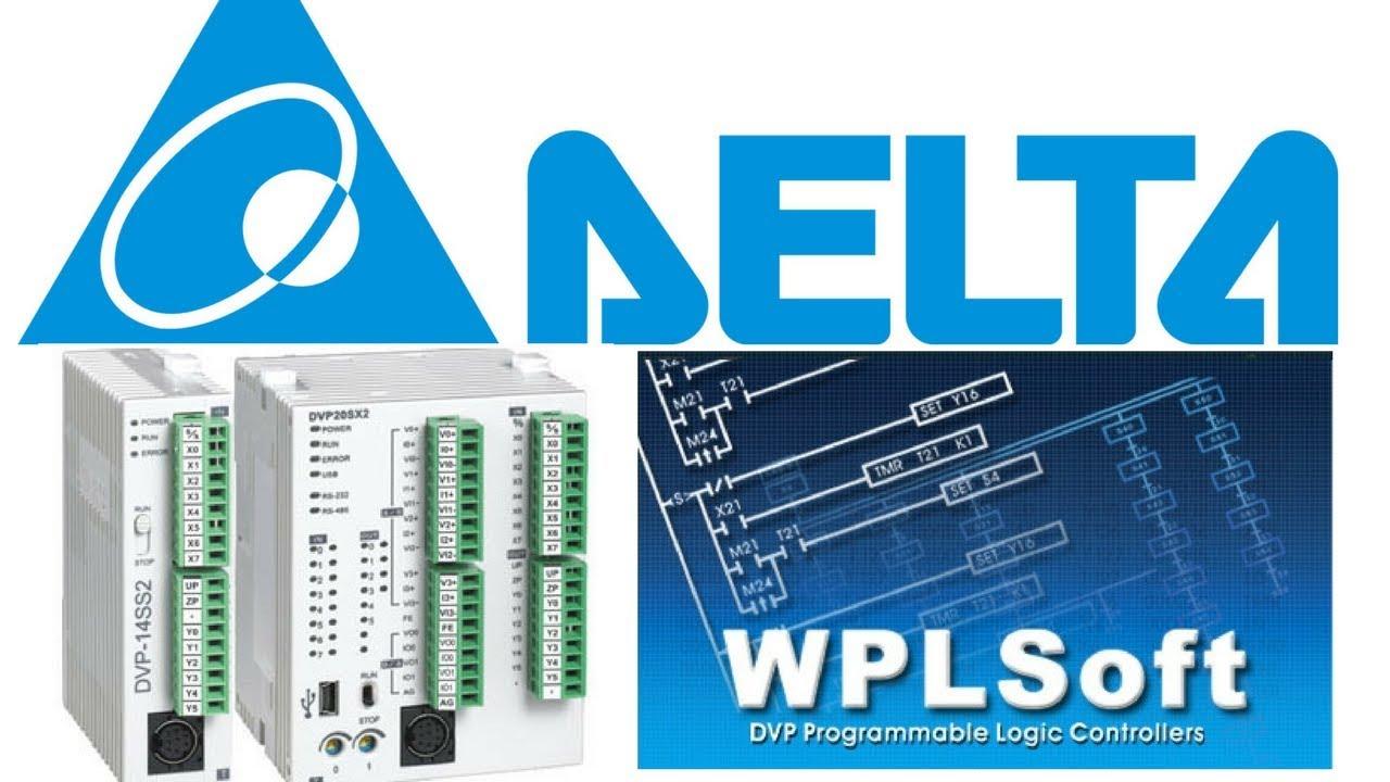 #00/DELTA PLC/WPLsoft بيئة البرنامج