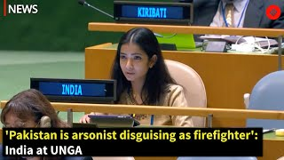 'Pakistan is arsonist disguising as firefighter': India at UNGA
