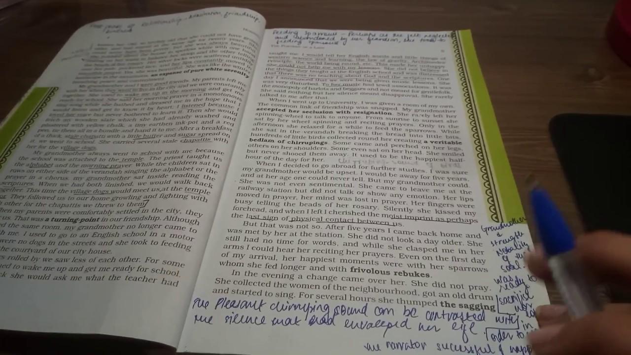 Hornbill Book Class 11 Pdf