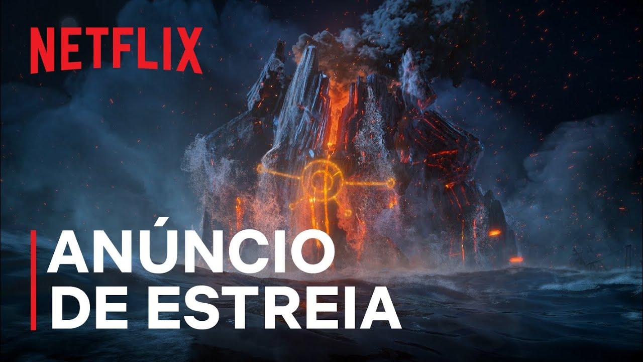 Caçadores de Trolls: A ascensão dos titãs | Guillermo del Toro | Anúncio de estreia | Netflix