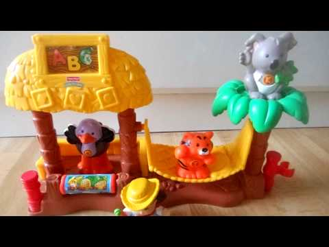 Fisher-Price World of Little People ABC Zoo Nursery