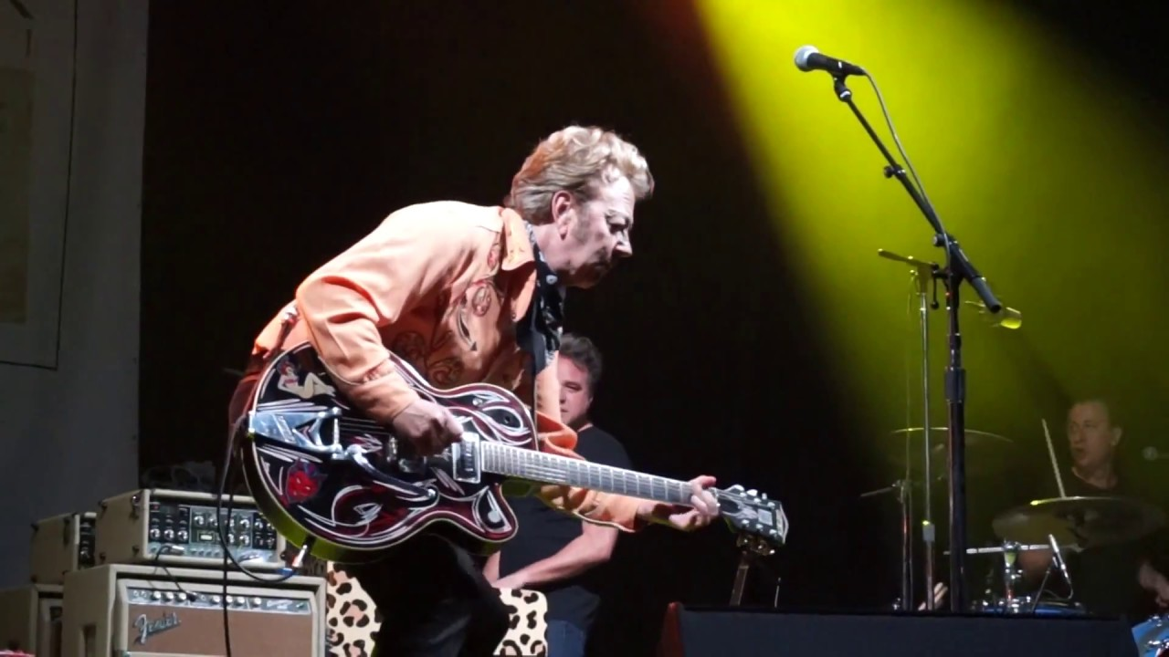 BRIAN SETZER - TRISH SCOTT FILMS