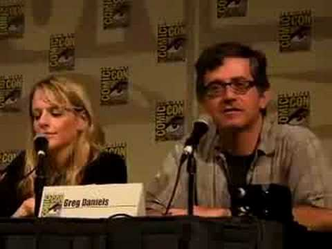 COMIC CON 2008: The Office Panel PART TWO