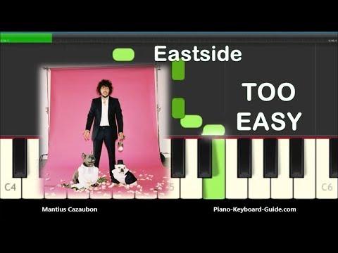 Benny Blanco, Halsey & Khalid Eastside Right Hand Slow Easy Piano Tutorial