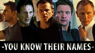 Bourne/Bond/Hunt/Mills/Cross - You Know Their Names
