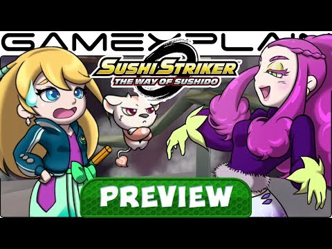 We Played Sushi Strikers for 2 Hours! Hands-On Preview Discussion (w/ Nintendo Power Couple!)