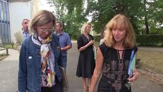 Cité scolaire du Parc des Chaumes (89) - Visite de rentrée du Conseil régional - Édition 2017