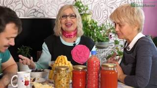Октябрина Ганичкина и Мичурин-томаты