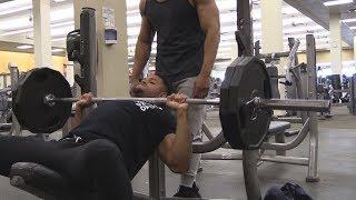 Chest & Shoulder Workout  @Hodgetwins