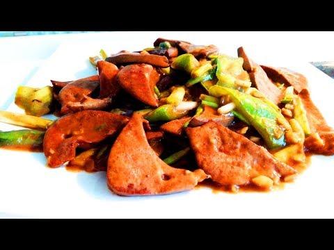 Китайская кухня. Жареная свиная печень по-китайскииз YouTube · Длительность: 6 мин9 с