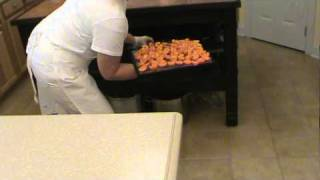 Dehydrating Apricots