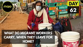 What They Carry Back When They Leave. The Story of Migrant Workers And 4 White Buckets