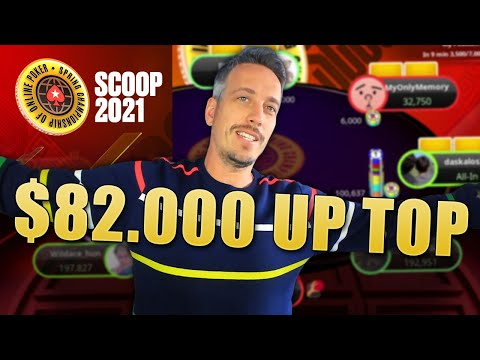 2nd BEST PLAYER in the WORLD ♣ SCOOP 2021