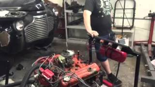 Mobster motors engine test 1970 Buick small block 350cu in