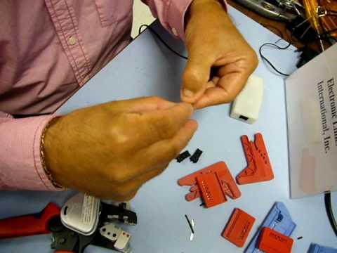 Plastic optical fiber pof connector termination for home - Pof com se connecter ...