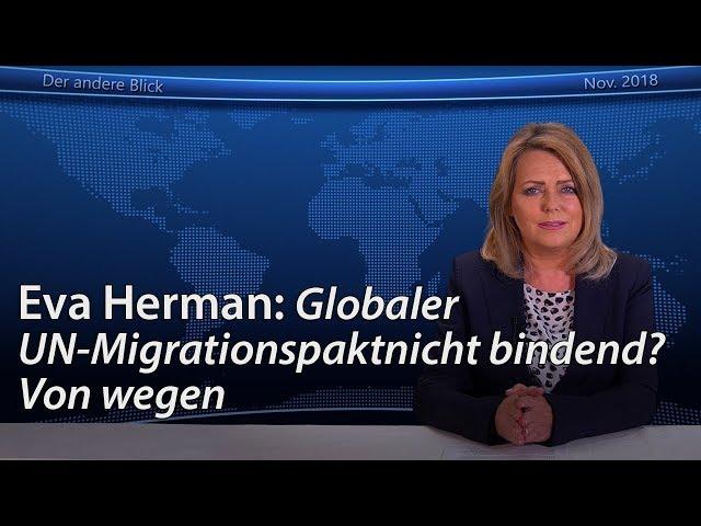 Globaler UN-Migrationspakt nicht bindend? Von wegen