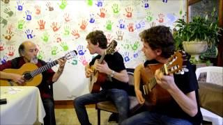 La Guitarrita - Juanjo Dominguez junto a Matías y Agustín Faggiano