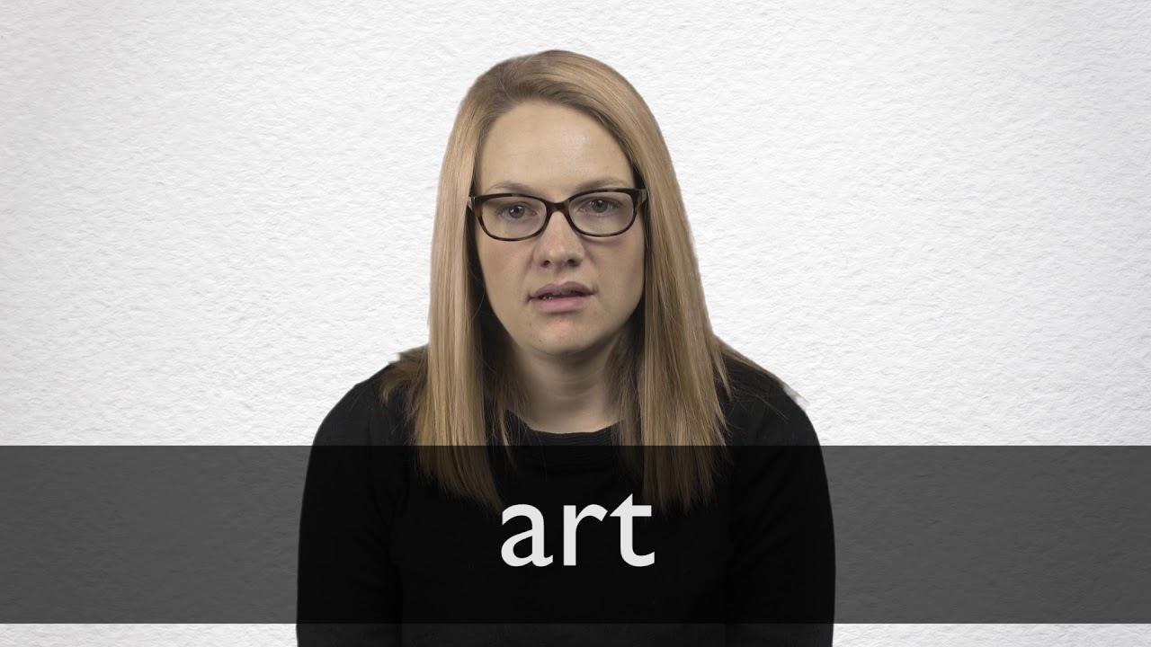 Art Synonyms | Collins English Thesaurus