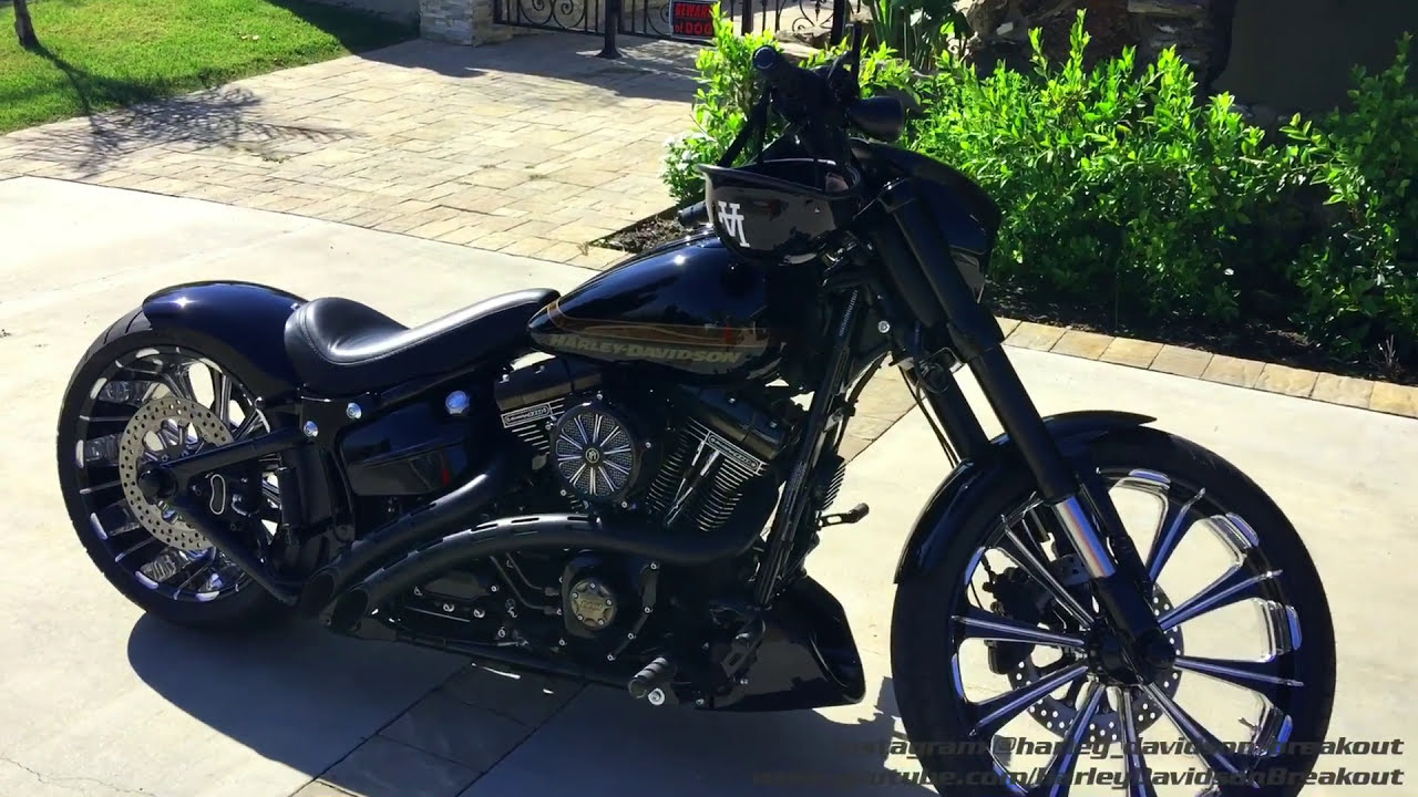 harley davidson custom cvo breakout suspekt5150 from los. Black Bedroom Furniture Sets. Home Design Ideas