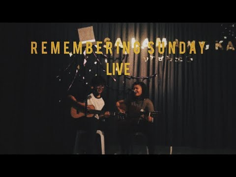 Remembering Sunday by All Time Low (live cover) || Kiel & Blair