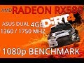DIRT 4 - ASUS Dual RX580 4GB Benchmark 1080p