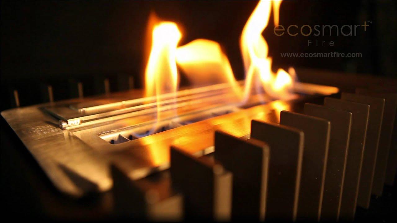 ecosmart fire scope 340 fireplace grate youtube