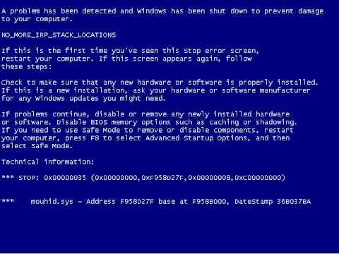 Blue Screen of Death Screensaver (BSOD)
