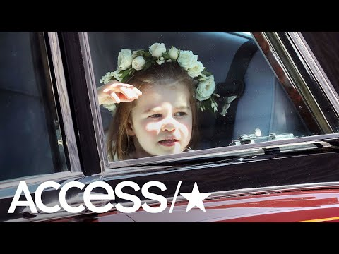 Prince George & Princess Charlotte Steal The Show At The Royal Wedding!