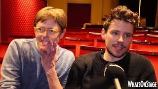 Christian Slater, Kris Marshall and the cast of Glengarry Glen Ross discuss David Mamet's play