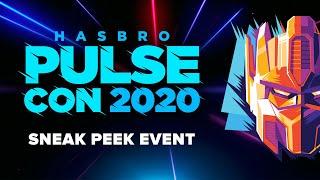 Hasbro Pulse | Hasbro PulseCon 2020 | SNEAK PEEK EVENT