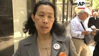 SUPPORTERS WISH DEMOCRACY ICON A HAPPY BIRTHDAY